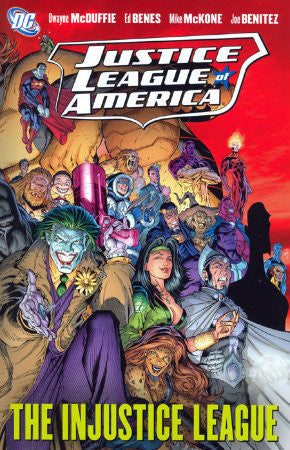 Justice League of America The Injustice League TPB (2009)