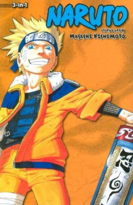 Naruto 3-In-1 Ed Vol 04