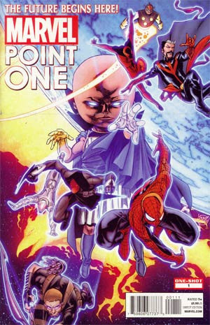 Point One (2011 Marvel) #1 Regular Cover