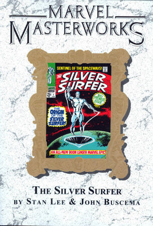 Marvel Masterworks Silver Surfer Book 1 Deluxe Edition Variant Vol 15 TPB (2009)