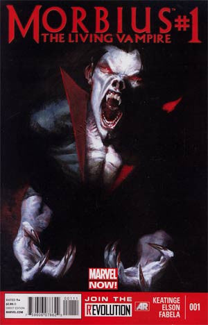 Morbius The Living Vampire (2013 2nd Series) #1
