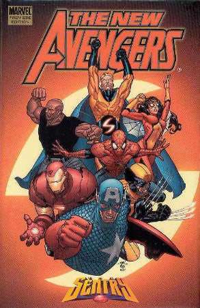 New Avengers Vol 2 Sentry HC (2005-2010 1st Series)