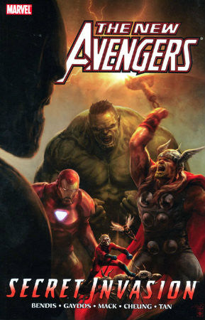 New Avengers Vol 8 Secret Invasion HC (2005-2010 1st Series)
