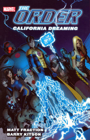 Order Vol 2 California Dreaming TPB (2008 Marvel)