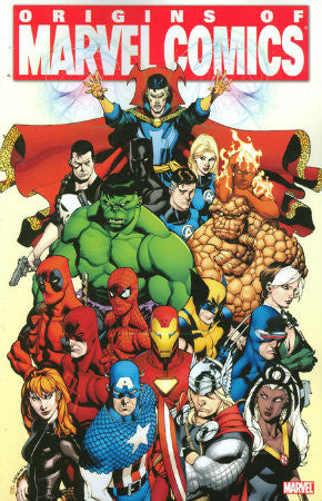 Origins of Marvel Comics TPB (2011 Marvel)