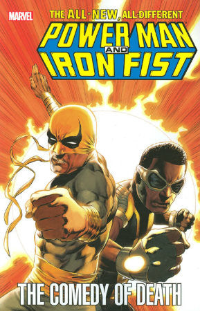 Power Man and Iron Fist The Comedy of Death TPB (2011)