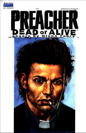 Preacher Dead or Alive - Covers by Glenn Fabry HC (2000)
