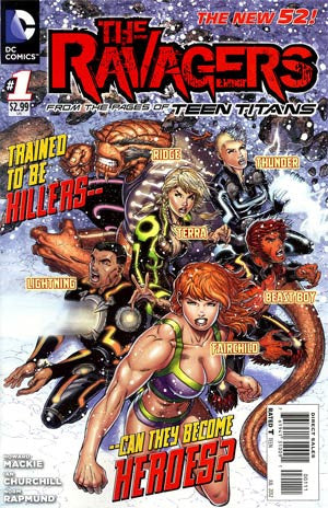 Ravagers (2012 DC) #1