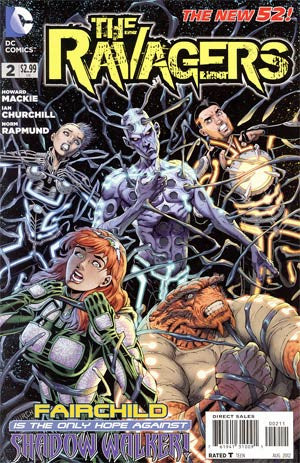 Ravagers (2012 DC) #2