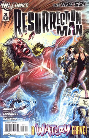 Resurrection Man (2011) #3
