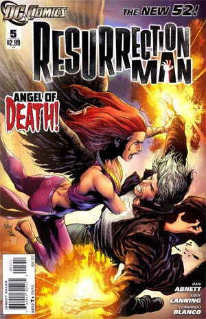Resurrection Man (2011) #5