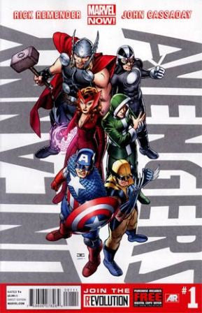Uncanny Avengers (2012 Marvel Now) #1