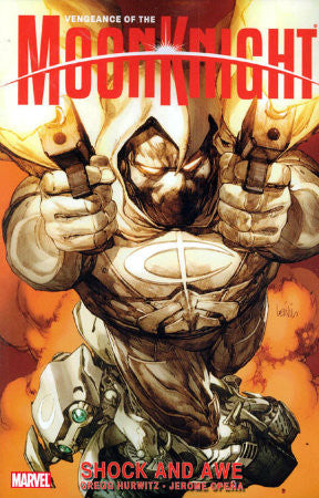 Vengeance of Moon Knight Vol 1 Shock and Awe TPB (2010)