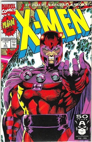 X-Men (1991 1st Series) #1 Cover D Magneto