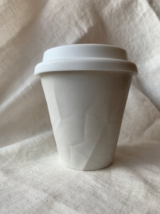 Medium Porcelain T/A cup