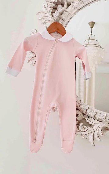 Peter Pan Jumpsuit Pink