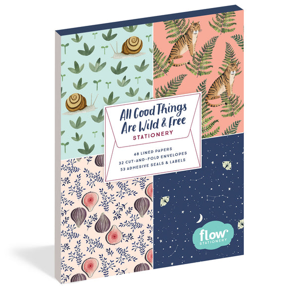 All Good Things Are Wild And Free  - Stationery Set