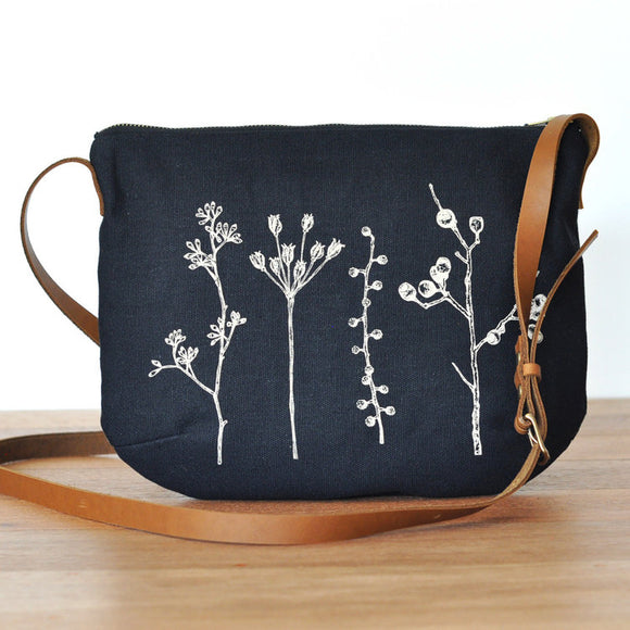 Botanica Shoulder Bag - Black