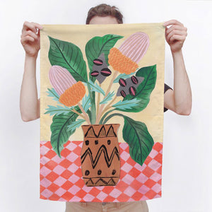 Bushdance Tea Towel
