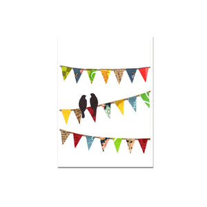 Greeting Card - Bunting