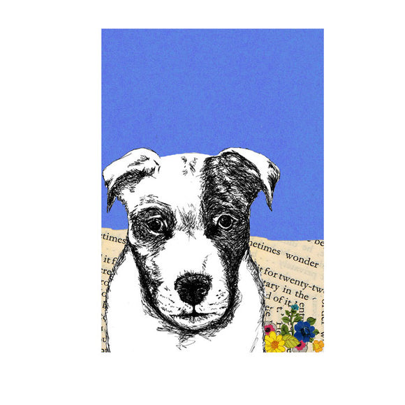 Greeting Card - Dog