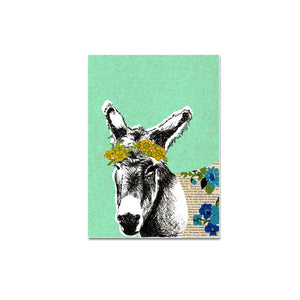 Greeting Card - Donkey