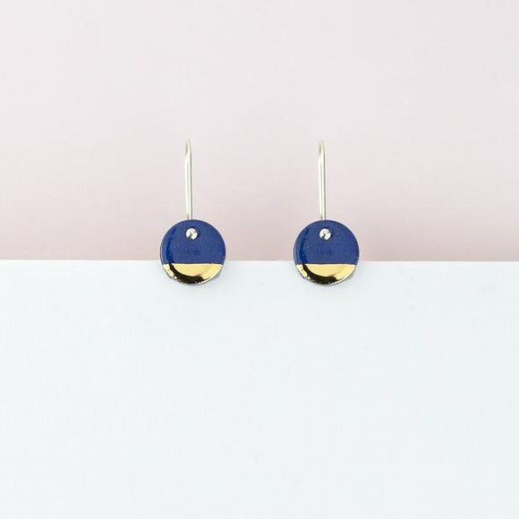 Erin Lightfoot - Blue Spots Earrings