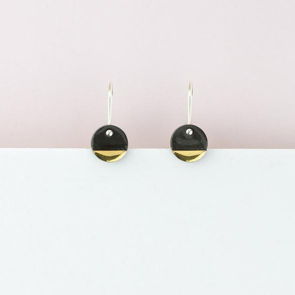 Erin Lightfoot - Black Spots Earrings