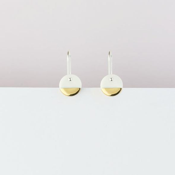 Erin Lightfoot - White Spots Earrings