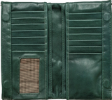 Forest Leather Maggie Wallet