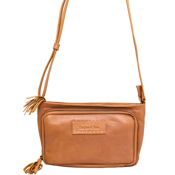 Tan Leather Leonie Handbag