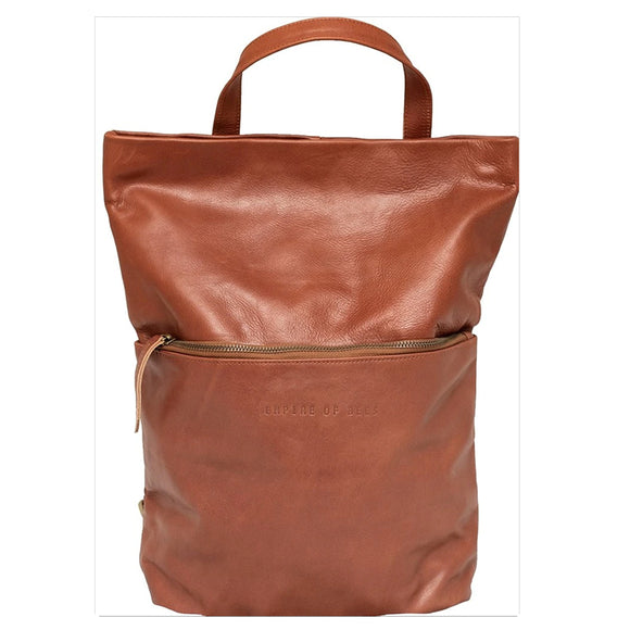 Mahogany Leather Mindy Backpack