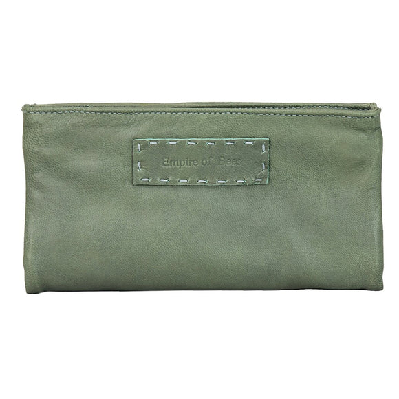 Moss Leather Maggie Wallet