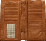 Tan Leather Maggie Wallet