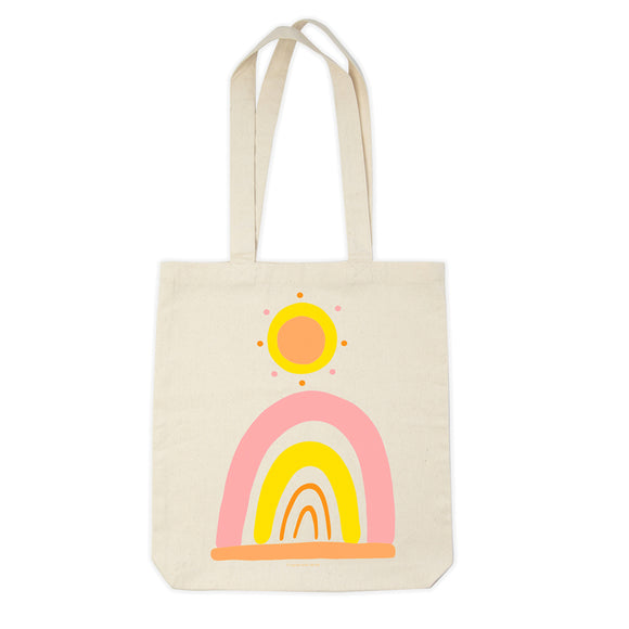 Organic Cotton Tote Bag - Wild And Free