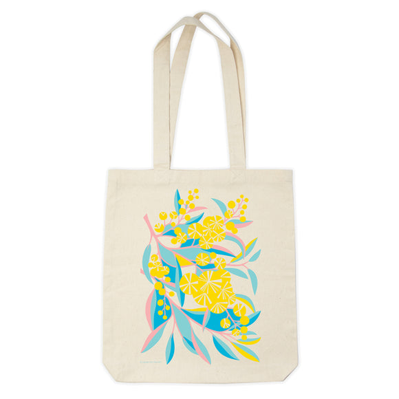 Organic Cotton Tote Bag - Wattle Walk