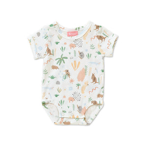 Outback Dreamers Short Sleeve Bodysuit