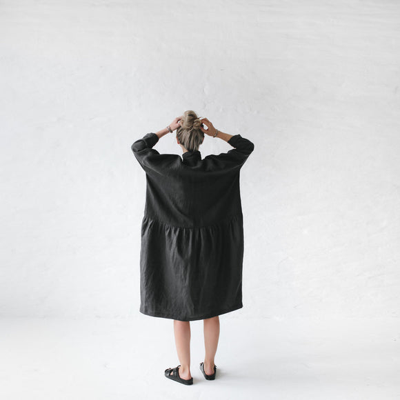 Oversized Dress - Dark Grey