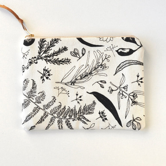 Gathered Pouch - Natural