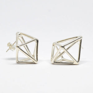 Laurence Coffrant Prism Pinfold Earrings