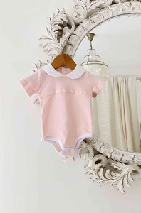 Peter Pan Bodysuit Pink
