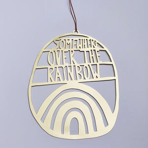Over The Rainbow Wallhanging