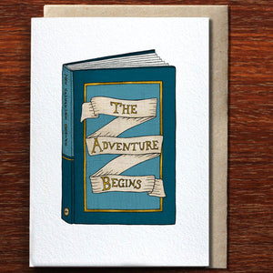 The Adventure Begins - Greeting Card
