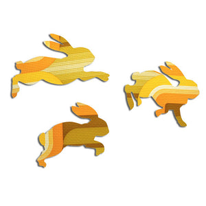 Yellow and Green Bouncing Bunnies