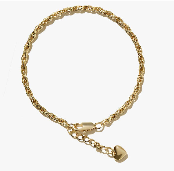 Layered Anklet Adjustable Summer Beach Anklet