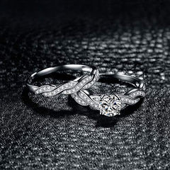 Infinity Love Forever Engagement Wedding Ring