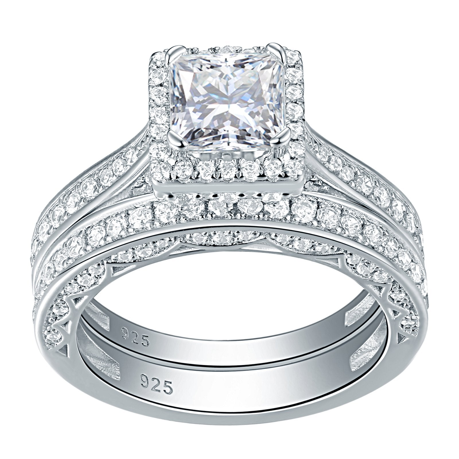 Engagement Wedding Ring Set for Women