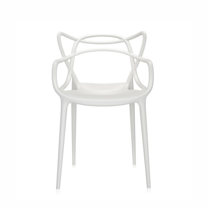 Masters Chair, Matte White