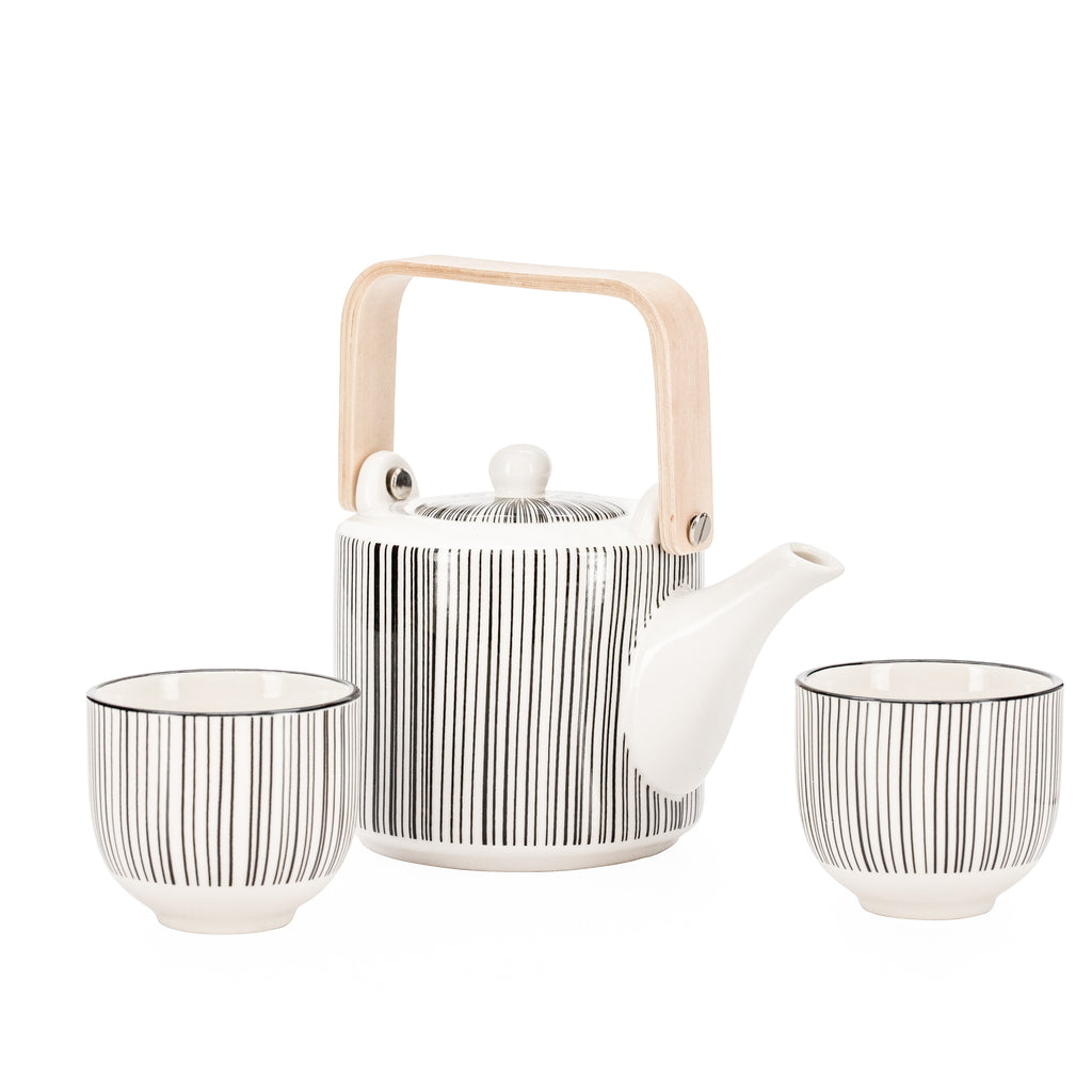 Kiri 3-Piece Teapot Set
