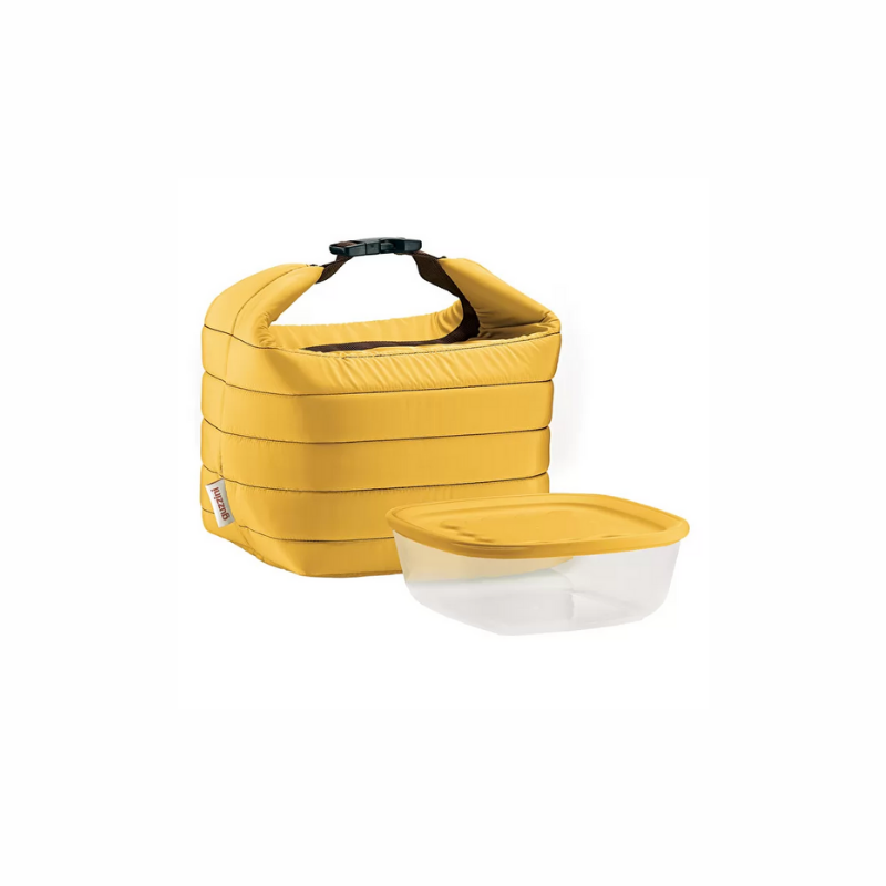 Small Thermal Bag w/ Airtight Container, Ochre